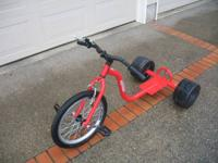 HILL KICKER PRO Adult drift trike, like new only used