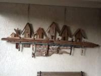 Driftwood dockside display for $60.00. It's a big 8