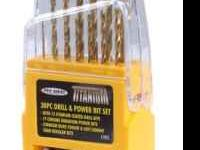KR Tools 11931 Pro Series 30-Piece Drill and Power Bit