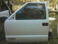 driver side door off a 97 Chevy S10. Manual windows, in