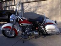Drives Excellent 1958 Harley Davidson Touring -Looks