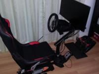 Driving set for PC and PlayStation. 1. Playseat Forza