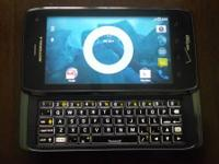 Droid 4 in exceptional condition. It works terrific and