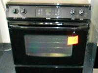 Kenmore Black Drop in Glass Top Stove, Timer and Self