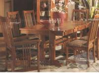 Temple-Stuart drop leaf dining room table with 4