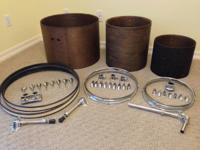 I'm selling a vareity of drum equipment that I've