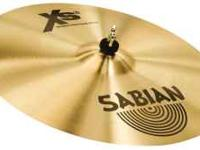 All drum equipment, Zildjian, and Sabian cymbals, big