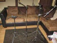 Here we have a Tama counterweighted cymbal boom stand,
