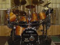 2 custom-built drum set road cases. The approximate