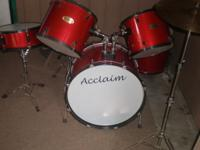 i have a drum set in great conditions like new for more