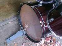 Drum set for sale $250 Obo. Sold as is. It is used so