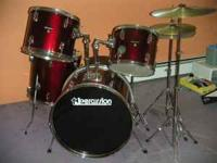 TJ Percussion Drum Set for sale Includes the