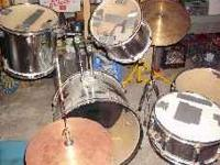 Im am trying to get rid of a drum set in my basement