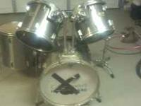 I have a pearl drum set for sale. Its a basic 5 piece