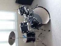 UNBELIEVABLE DEAL! BARELY USED 5 PIECE PDP Z DRUM SET