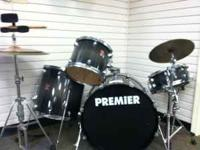 PREMIER BRAND DRUM SET IN GREAT CONDITION **COME CHECK