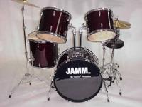 JAMM By Cannon Percussion 5 piece conventional size