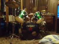 peavey drum set for sale like new didnt really learn to