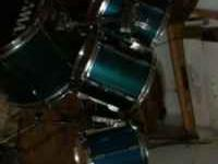 Tama rock star drums with double bass pedal call