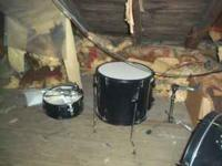 This is a complete drum set. I got it as a gift for my