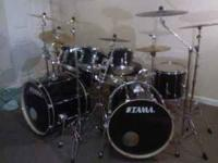 i have a Tama rockstar set with a real nice Tama