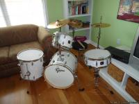I'm selling my drum set I bought for my little sister.