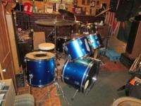 I am helping a friend out selling his drum set. So