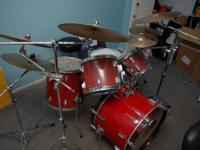 Tama rockstar drum kit all stands are new within the