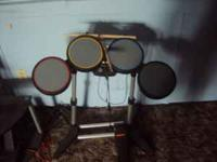 for sale drum set for xbox 360 if intersted please call