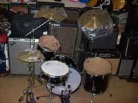 THIS LISTING IS FOR A DRUM SET BY PDP HAS NEW NEVER