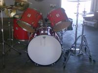 1.- 1963 VINTAGE ERA LUDWIG 7 PIECE SHELL PACK W/