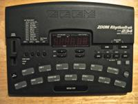 ZOOM RhythmTrak 234 is packed with Drum and Bass