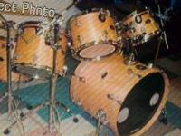(2) sets of drums - 1 Tama set with all accessories