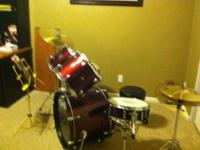Drum set with saber symbols $500 This ad was posted
