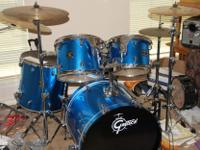 Nice yr old Gretsch drumset. almost like new! played