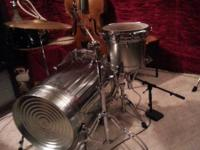 Drummers i make one of a kind CustomTrash Can Sets! The