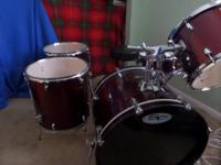 Sound percussion drum set for sale. Great set but