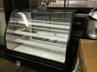 "FOR SALE - DRY BAKERY CASE (ROOM TEMP) 50"" IN GREAT"
