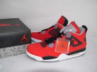 "Air Jordan 4 Retro ""Toro Bravo"" Rare New condition with"