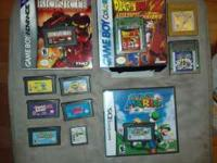 Gameboy Games:: See pricing OBO All in good condition.