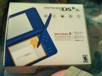 I got a ban new ds I xl. it with on little pen and one