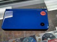 Doc's Video Games!  We have a Blue DSi XL available!
