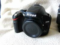 Nikon D5100 Body only in good condition working.