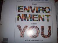 ENVS 1010 THE ENVIRONMENT & YOU- binder edition text