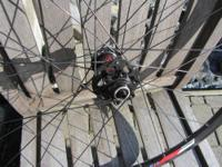 NEW never ridden DT240s disk hubs laced to DT XR 4.1D