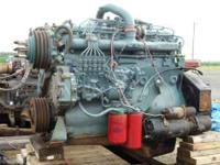 REBUILT DT466 ENGINE WITH NEW OIL PUMP RUNS GOOD, MW