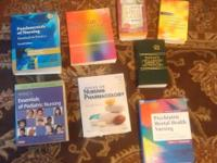 I have a set of nursing books used at Durham Tech a