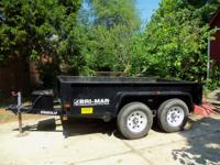 DTRASCAL 610LP Bri Mar Hydraulic Dump Trailer  Bri Mar