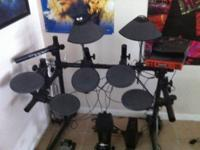 I'm selling My yamaha DTXpress electric drum set.