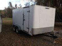7 X 14, electric brakes, heavy duty with ramp